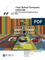 OECD Sample Test For Schools Report - Pisa para Escolas - Informe de Escola