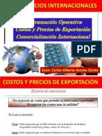 22 Costos Precios Exportacion