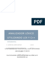 Analizador Lexico - Proyecto