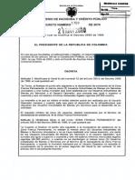Decreto 1769 de 2010 Por El Cual Se Modifica El Decreto 2685 de 1999