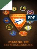 Manual de Especialidades 2013