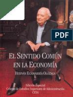 El Sentido Com n en La Econom a Hernan Echavarria Olozaga