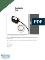 DRC PE 100 Data Sheet
