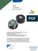 DRC Packaged Encoders T23BA Data Sheet