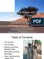 What's the Matter with Development Today? And What to Do About It.