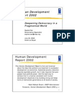 Human Development Report 2002