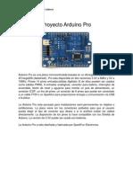 Proyecto Arduino Pro