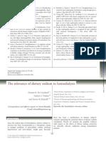 The Relevance of Dietary Sodium in Hemodialysis