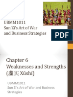 Lecture 7 Weaknesses and Strength sun tzu