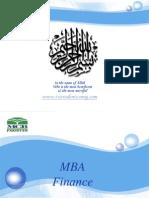 FINI619 Internship Report MCB