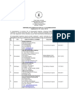 List Empanelled Hospitals CIL Subsidiaries Updated 18.06.2014 20062014