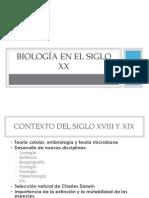 Biología en El Siglo XX