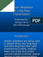 Raman Amplifiers