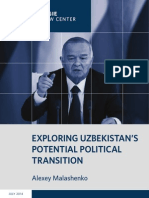 Exploring Uzbekistan's Potential Political Transition