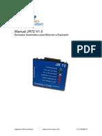 Manual Controlador JR72