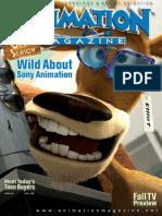 Animation Magazine ANIMATION MAGAZINE - October 2006 Issue 2006