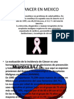 El Cancer en Mexico
