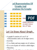 Linked Representation of Graphs