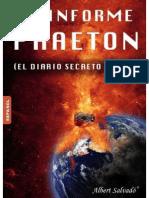 EL INFORME PHAETON (El Diario Secreto de Noe) (Spanish Edition) - Salvado, Albert