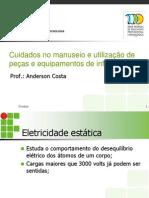 Cuidados No Manuseio e Utilização de Peças e Equipamentos (1)