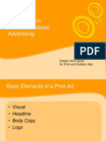 Broadcast and Print Advert Technic
