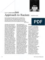 2007 Issue 3 - A Christian Approach to Racism Part 1 - Counsel of Chalcedon