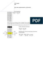 Interpolacao de Tabelas