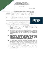 Clarification on VAT Forms