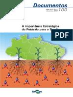 A Importancia Estrategica Do Potassio Para o Brasil