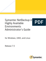 NetBackup7.5 AdminGuide HighAvailability