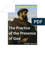 The Practice of the Presence of God - Br. Lawrence