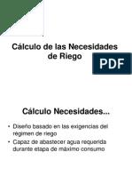 Tema 5 - Calculo de Necesidades de Riego