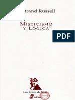 Misticismo y Lógica