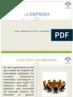 La Empresa y La Contabilidad