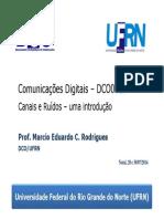 DCO0010 Canais e Ruidos