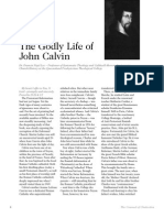 2007 Issue 6 - The Godly Life of John Calvin - Counsel of Chalcedon