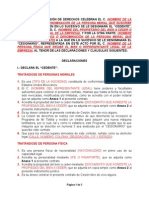 Contrato de Cecion