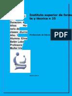 Instituto Superior de Formación Docente y Técnica N