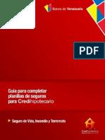 Guia Para Completar Planillas de Seguro - Credihipotecario.