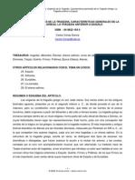 Varias Carlos 2005 - La Tragedia. Orígenes de La Tragedia. Características Generales. La Tragedia Anterior a Esquilo