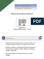 Síntese de Processos Químicos - PDF