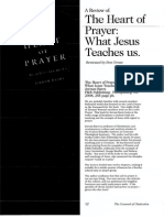 2008 Issue 3 - A Review of the Heart of Prayer by Jerram Barrs - Counsel of Chalcedon