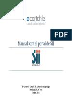 Manual Para La Facturacion Electronica Sii