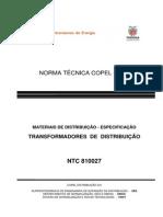 NTC810027 - TRANSFORMADORES