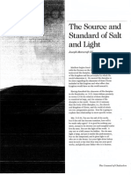 2008 Issue 4 - The Source and Standard of Salt and Light - Counsel of Chalcedon