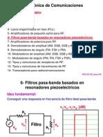 Filtros piezoeléctricos