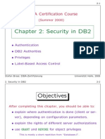 DBA Certification Course (C2)
