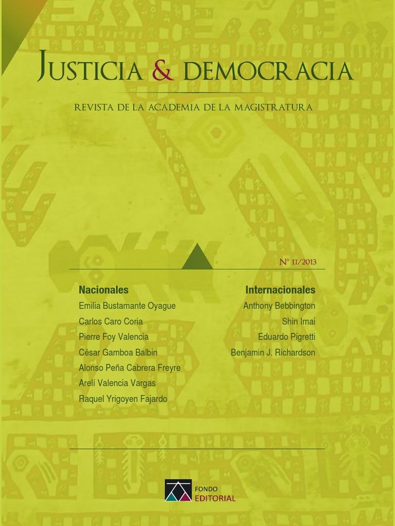 Revista Justi Democ n11 2013