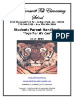 2014-2015 stonewall tell es student-parent handk