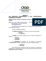 Tributario Las Prácticas Fraudulentas y Sus Consecuencias Económicas y Sociales